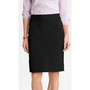 Banana Republic Sloan Pencil Skirt in Black 10